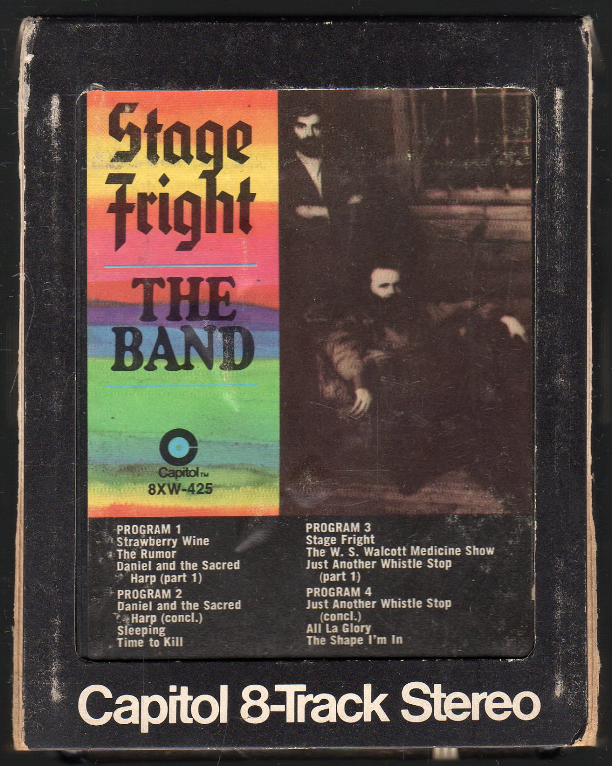 The Band - Stage Fright 1970 CAPITOL A26 8-TRACK TAPE