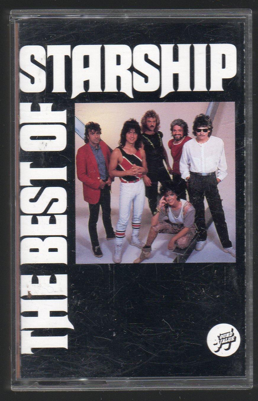 Jefferson Starship - The Best Of Starship 1993 RCA C15 CASSETTE TAPE