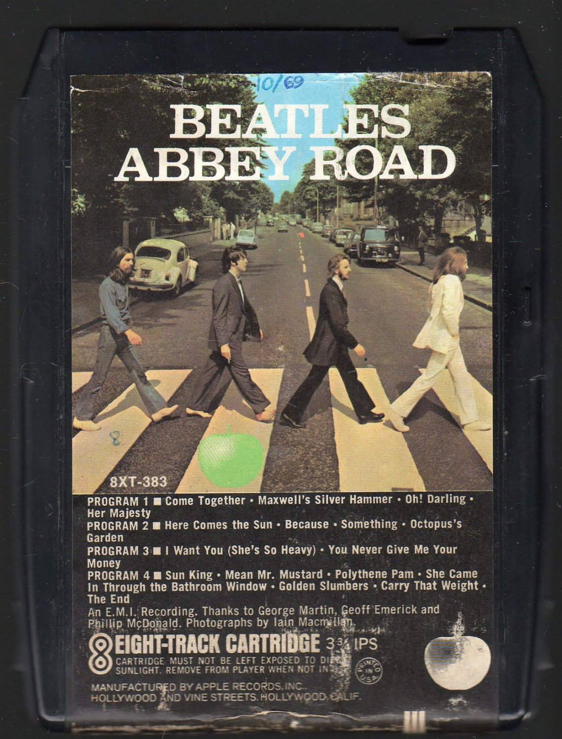 The Beatles - Abbey Road 1970 APPLE A26 8-TRACK TAPE