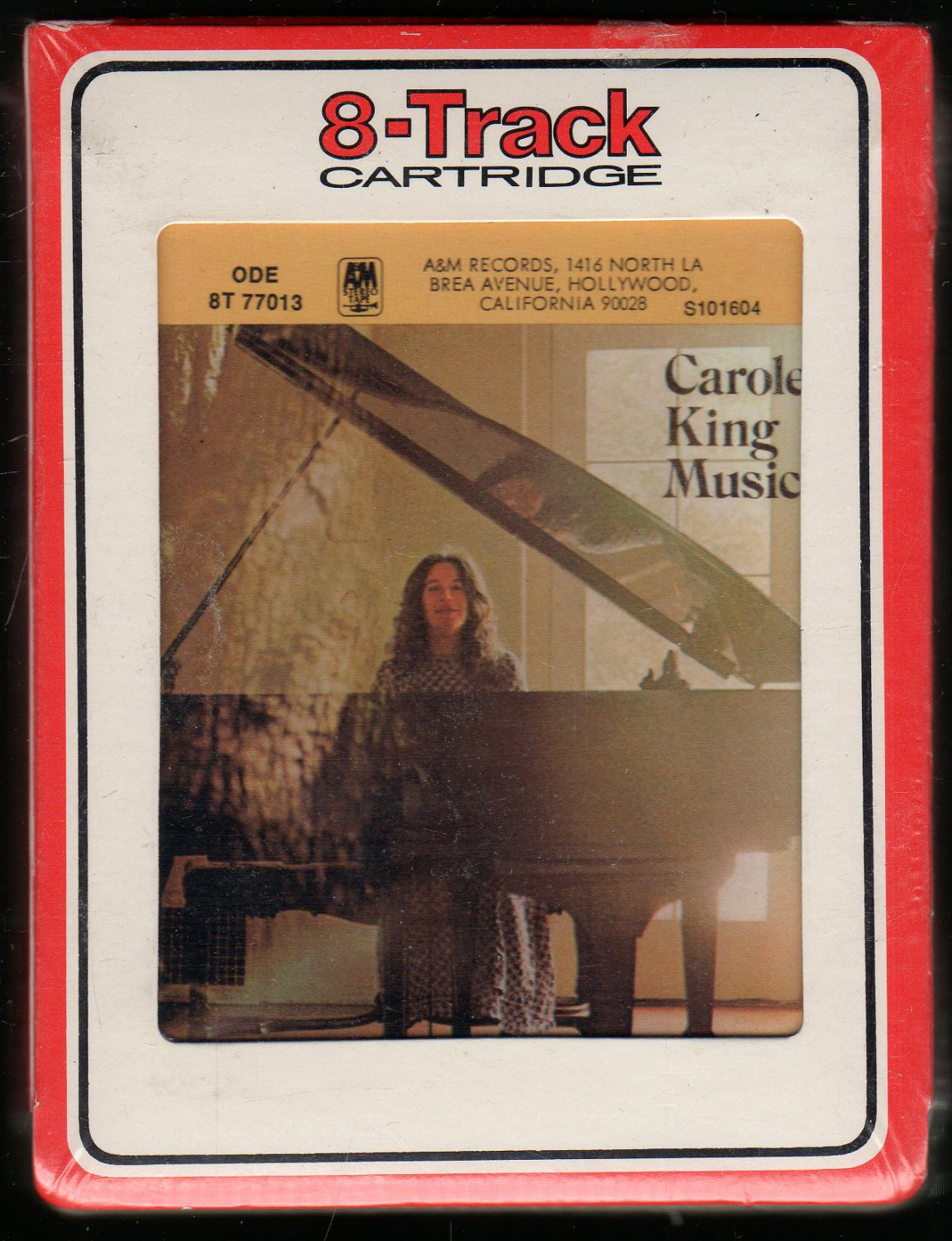 Carole King - Music 1971 RCA Sealed A26 8-TRACK TAPE