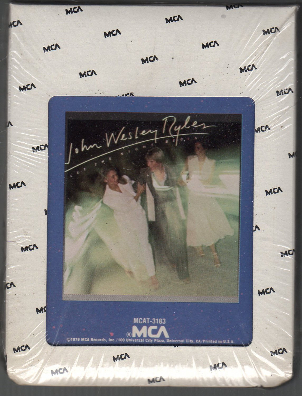 John Wesley Ryles - Let The Night Begin 1979 MCA Sealed A26 8-TRACK TAPE