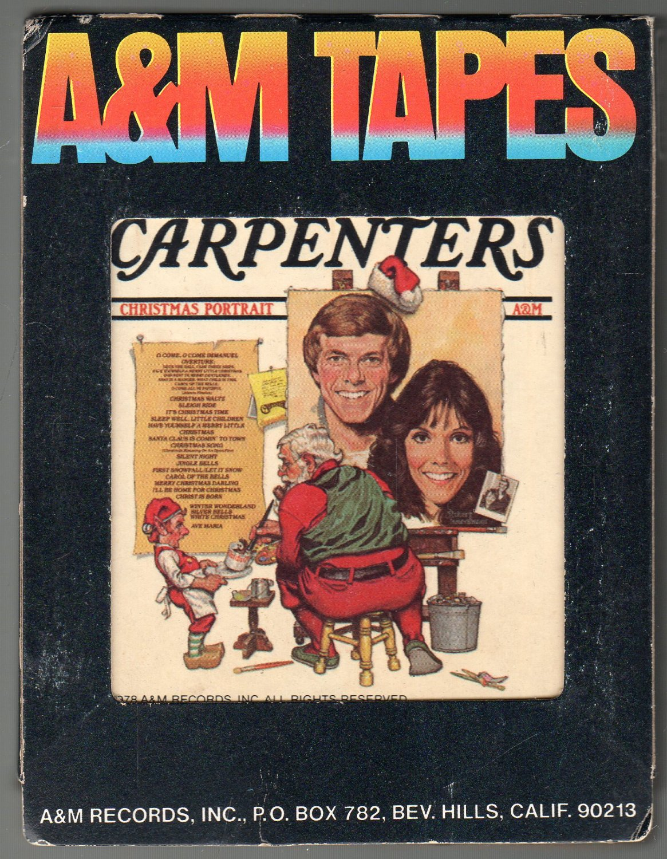 Carpenters - Christmas Portrait 1978 A&M A42 8-TRACK TAPE
