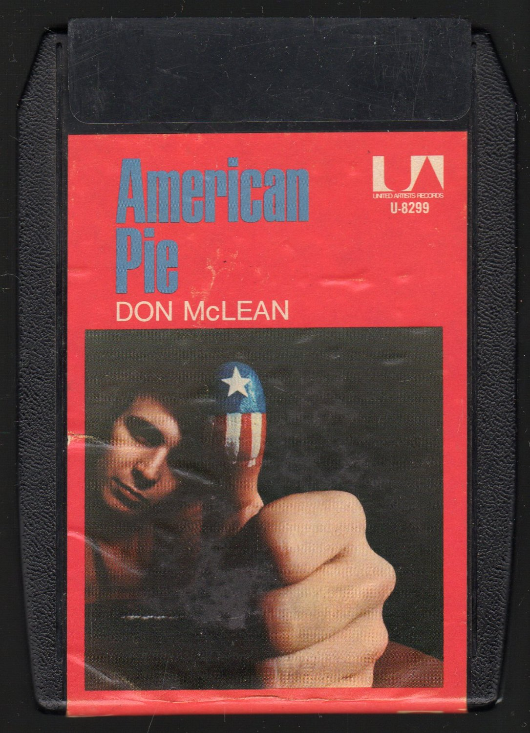 Don McLean - American Pie 1971 UA A8 8-TRACK TAPE