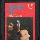 Don McLean - American Pie 1971 UA A8 8-TRACK TAPE