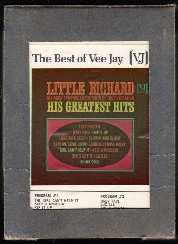 Little Richard - Little Richard's Greatest Hits 1968 VEEJAY A36 8-TRACK TAPE