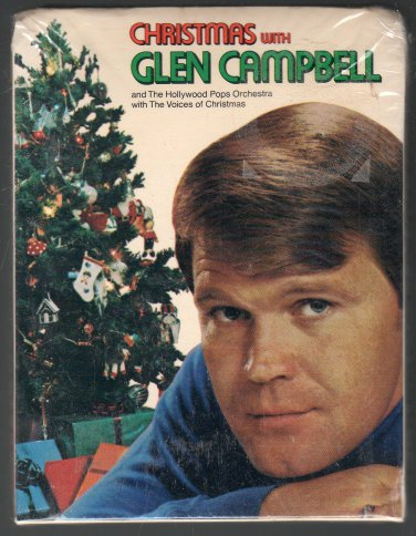 Glen Campbell - Christmas With Glen Campbell 1971 CAPITOL Sealed A36 8-TRACK TAPE