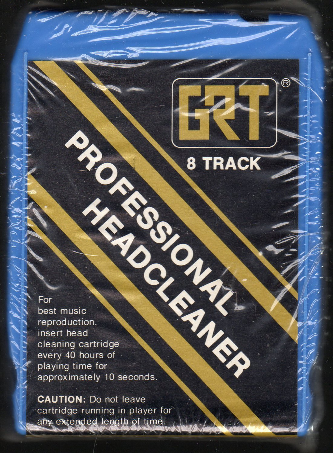 GRT - Professional Head Cleaner Sealed New A36 SOLD 8-TRACK TAPE