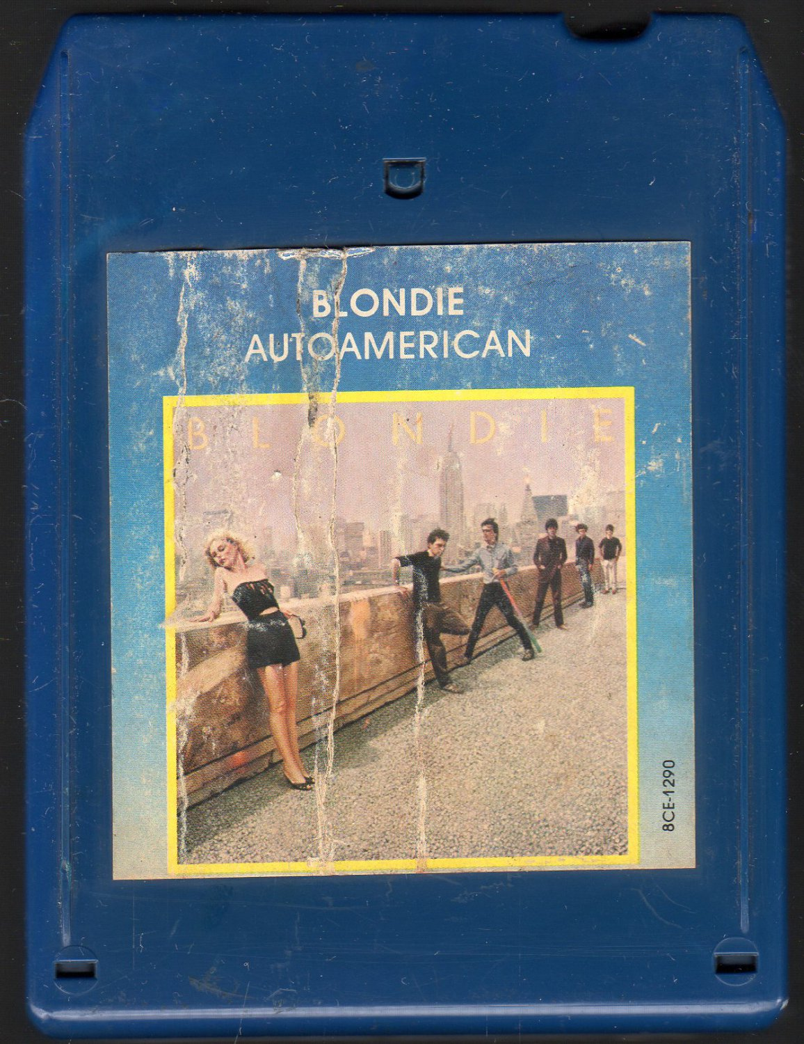 Blondie - Autoamerican 1980 CHRYSALIS A18F 8-TRACK TAPE