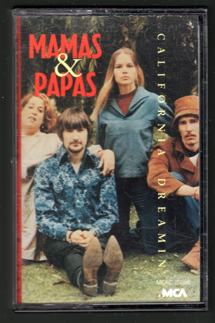 Mamas & Papas - California Dreamin' 1987 MCA C16 CASSETTE TAPE