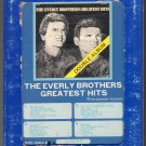 The Everly Brothers - Greatest Hits 1974 GRT Double Play A19A 8-TRACK TAPE