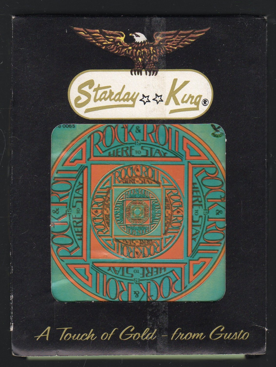 Rock And Roll Is Here To Stay - Original Artists 1980 GUSTO A19A 8-TRACK TAPE