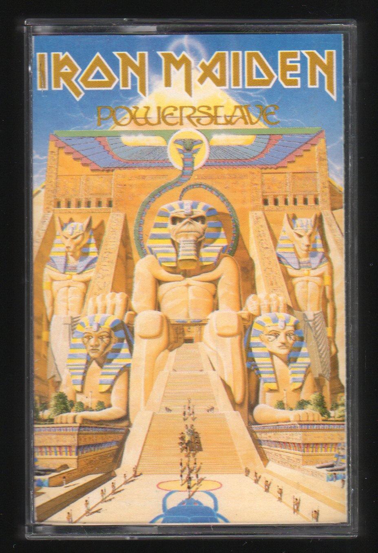 Iron Maiden - Powerslave 1984 EMI C5 CASSETTE TAPE