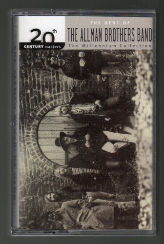 The Allman Brothers Band - The Best Of 2000 20TH CENTURY MILLENIUM C4 CASSETTE TAPE
