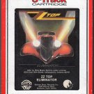 ZZ Top - Eliminator 1983 RCA WB T2 8-track tape