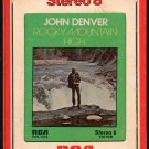 John Denver - Rocky Mountain High 1972 RCA A17B 8-track tape