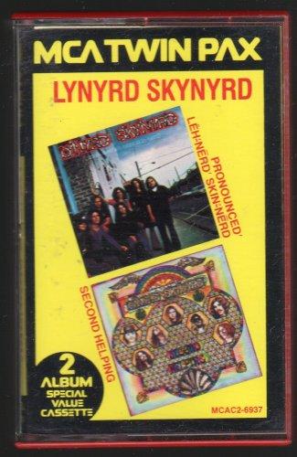 Lynyrd Skynyrd - Pronounced Leh-nerd Skin-nerd + Second Helping 1983 MCA C17 CASSETTE TAPE