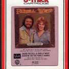 David Frizzell & Shelley West - Carryin' On The Family Names 1981 RCA A17A 8-TRACK TAPE