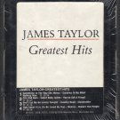 James Taylor - Greatest Hits 1976 WB A17 8-TRACK TAPE