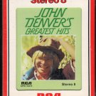 John Denver - Greatest Hits 1973 RCA A17C 8-TRACK TAPE