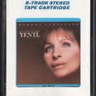 Yentl - Original Motion Picture Soundtrack 1983 CRC A17C 8-TRACK TAPE