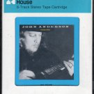 John Anderson - Greatest Hits 1984 CRC A17C 8-TRACK TAPE