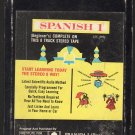 Spanish 1 - Institute For Language Study 1967 AMPEX A17C 8-TRACK TAPE