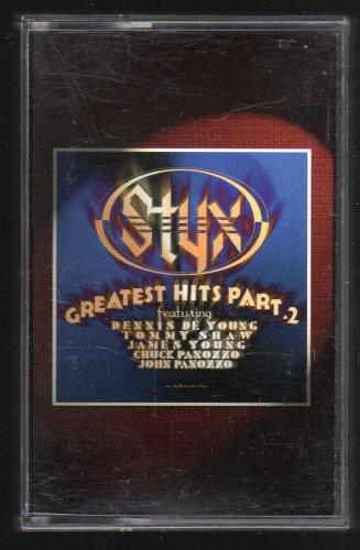 Styx - Greatest Hits Part 2 1996 A&M C17 CASSETTE TAPE