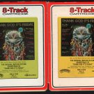 Thank God It's Friday - Motion Picture Soundtrack 1 & 2 1978 RCA AC3 8-TRACK TAPE