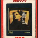 Lou Reed - Rock N' Roll Animal 1974 RCA A28 8-TRACK TAPE