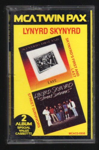 Lynyrd Skynyrd - First And Last + Street Survivors 1983 MCA C8 CASSETTE TAPE