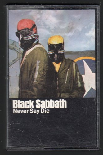 Black Sabbath - Never Say Die 1978 WB C16 CASSETTE TAPE