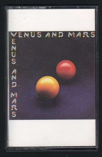 Paul McCartney & Wings - Venus And Mars 1975 CAPITOL Re-issue C16 CASSETTE TAPE