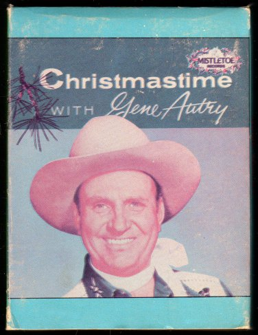 Gene Autry - Christmastime With Gene Autry 1958 MISTLETOE Re-issue A28 8-TRACK TAPE