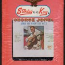 George Jones - Sings His Greatest Hits 1962 STARDAY Re-issue Sealed A42 8-TRACK TAPE
