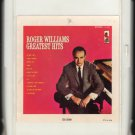 Roger Williams - Greatest Hits 1962 KAPP Re-issue A21A 8-TRACK TAPE