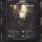 ABBA - Super Trooper 1980 ATLANTIC T8 8-TRACK TAPE