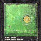 Alice Cooper - Billion Dollar Babies 1973 WB T8 8-TRACK TAPE