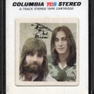 Kenny Loggins And Jim Messina - Loggins And Messina 1972 CBS A19C 8-TRACK TAPE