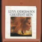 Lynn Anderson - Greatest Hits 1972 CBS AC1 8-TRACK TAPE