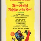 Fiddler On The Roof - Original Broadway Cast 1964 RCA Re-issue Sealed A21A 8-TRACK TAPE