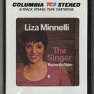 Liza Minnelli - The Singer 1973 CBS Sealed A21A 8-TRACK TAPE