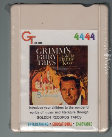 Danny Kaye - Grimm's Fairy Tales 1953 GOLDEN RECORDS Re-issue Sealed A21A 4-TRACK TAPE