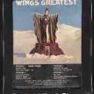 Paul McCartney & Wings - Wings Greatest 1978 CAPITOL A21B 8-TRACK TAPE