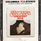Santana - Greatest Hits 1974 CBS A41 8-TRACK TAPE