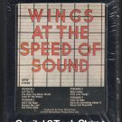 Paul McCartney & Wings - Wings At The Speed Of Sound 1976 CAPITOL A17B 8-TRACK TAPE
