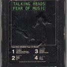 Talking Heads - Fear Of Music 1979 WB A18C 8-TRACK TAPE