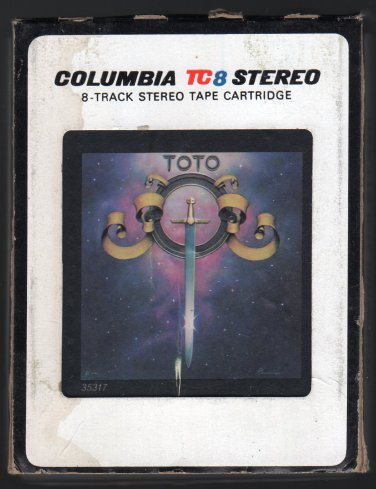 Toto - Toto 1978 Debut CBS A18C 8-TRACK TAPE