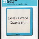 James Taylor - Greatest Hits 1976 CRC A11 8-TRACK TAPE
