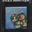 Creedence Clearwater Revival - 20 Super Hits 1978 KTEL A17C 8-TRACK TAPE
