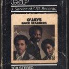 The O'Jays - Back Stabbers 1972 CBS PIR T8 8-TRACK TAPE